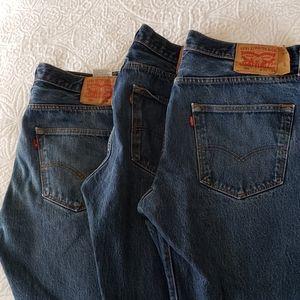 Levi's 501 jeans lot